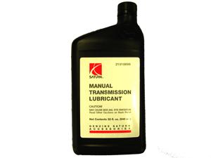 chevy cobalt manual transmission fluid type